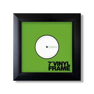 Glorious Vinyl Frame Set 7'' Black - Front View