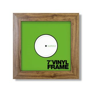 Glorious Vinyl Frame Set 7'' Rosewood - Front View