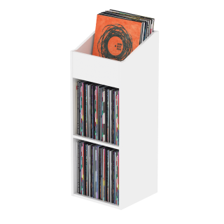 Glorious Record Rack 330 white